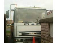 Iveco.7.5 scaffolding lorry