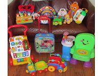 Huge Bundle Fisher Price VTech Lamaze Toys 16 Toys -