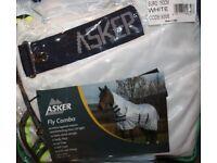 """Asker Horse Flu combo rug 6'6""""."""