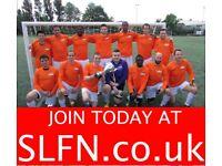 SATURDAY 11 ASIDE FOOTBALL TEAM NOW RECRUITING. PLAY FOOTBALL LONDON