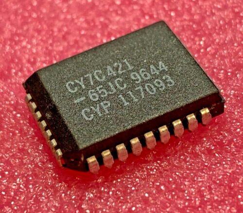 CY7C421-65JC Cypress, CY7C421, Asynchronous FIFO, 512 x 9, PLCC, (Qty 3)