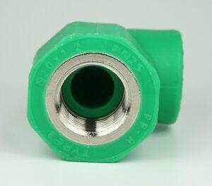 Aqua-Plus-PPR-angolo-IG-20mm-x-1-2-pollici-TUBO-ACQUA-CAVO-RISCALDAMENTO-90