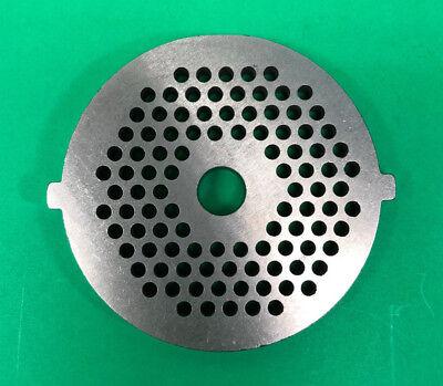 18 Fine Grind Holes Meat Grinder Disc Plate For Stx Turboforce 3000