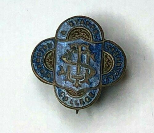 Wolverhampton & Staffordshire Technical College Enamel Badge 1940