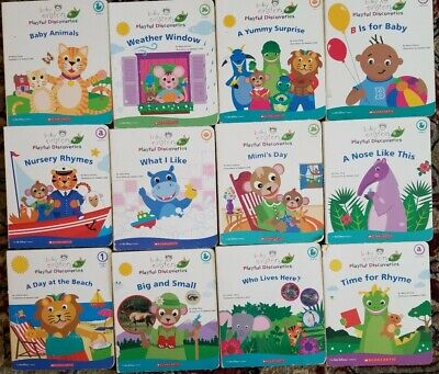 12 Baby Einstein Board. Playful discoveries Books