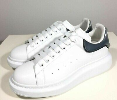 Brand-new Men's Alexander McQueen White Layered Detail Larry Sneakers in US 11