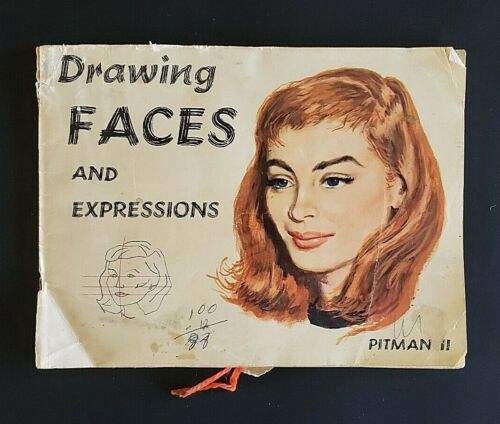 Drawing Faces and Expressions Pitman II Soft Cover 1956