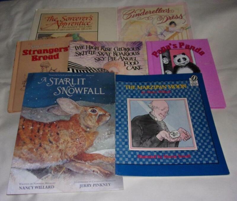 Set of 7 Nancy Willard picture books