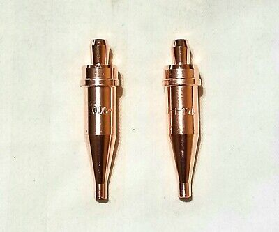 New Victor Style 000-1-101 Acetylene Cutting Torch Tip Lot Of 2 St2600fc Ca2460