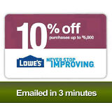 Lowes 10% OFF Printable-Coupons Lowe's - Exp 04/30/17 - Fast Delivery