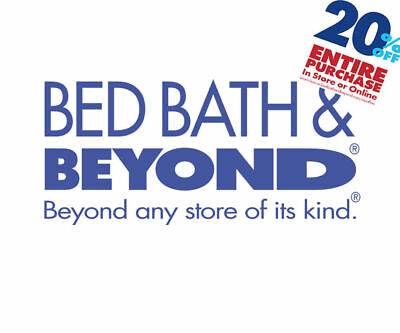 Bed Bath & Beyond - 20% Off Entire Purchase Coupon - online/store -Exp. 03/01/18