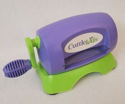 Used, Cuttlekids Shape Maker Die Cutting Machine Cuttlebug Cutter for sale  Shipping to Nigeria