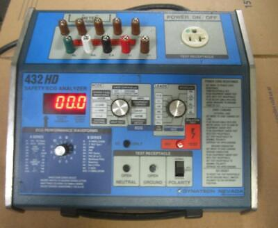 Dynatech Dmi Nevada 432hd Ecg Safety Analyzer