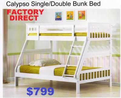 Bunk Beds Double Bottom Single Top Beds Gumtree Australia