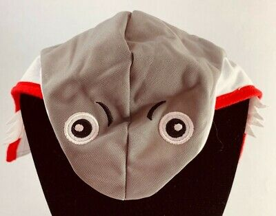 Shark costume head for a small dog or cat in great condition