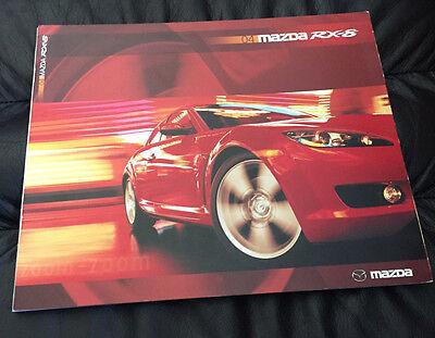 2004 Mazda RX-8 RX8 Original Dealer Sales Brochure Catalog