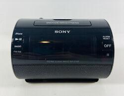 SONY Model ICF-C11iP Clock Radio made for iPhone With Lightning Dock