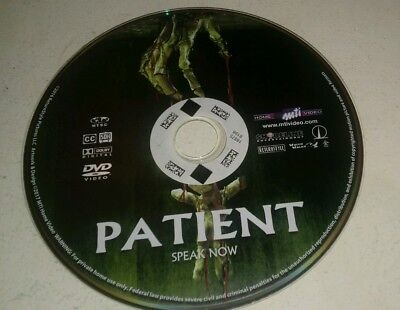 Horror Movies 2017 Halloween (Patient (DVD, 2017) Horror Halloween Disc)