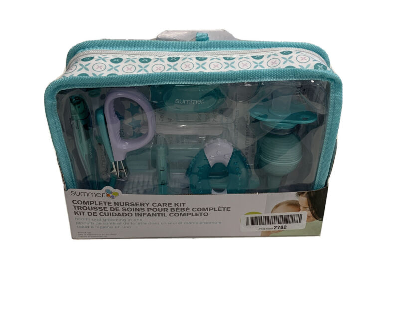 Summer Complete Nursery Care Kit Health and Grooming / Open Box/NEW Teal