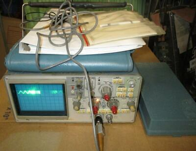 Tektronix 434 Storage Dual-channel Oscilloscope Manual Probes