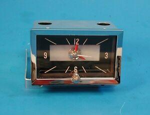 1957 Chevy Quartz Clock, BelAir, 210, 150, Wagon Models 57 NEW