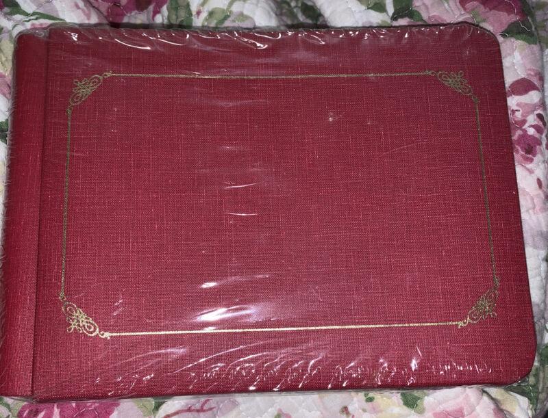 "Creative Memories 8 x 6"" Red Classic 20 Pages Scrapbook Photo Album Binder"