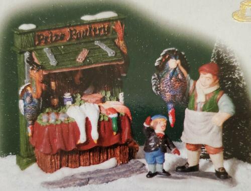 DEPT 56 DICKENS VILLAGE A CHRISTMAS CAROL THE BIG PRIZE TURKEY