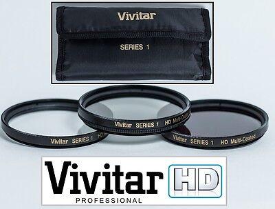 3PC HD Vetro Kit Filtro (UV + Polarizzatore + CPL ) per Canon Eos M EF-M 18-55mm usato  Spedire a Italy