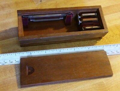 Leitz Polarizing Pol Microscope Parts Rot Lambda Gyps Glimmer Prism Wollerstein