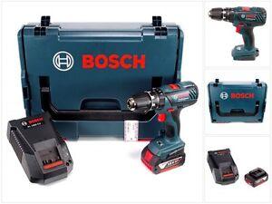 Bosch GSB 18-2-Li Plus 18V Akku Schlagbohrschrauber + 5 Ah Akku + L-Boxx + Lader
