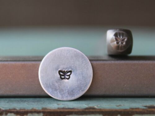 SUPPLY GUY 3mm Butterfly Metal Punch Design Stamp SGCH-146