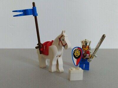 Vintage LEGO Classic Castle Knights Set 6008 Royal King 100% COMPLETE Horse VTG