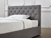 Chester Gas Lift Storage Bed Frame Fabric double/ queen/ King New Hoppers Crossing Wyndham Area Preview