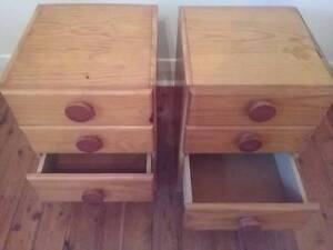 2 bedside drawers $20 each Broadmeadow Newcastle Area Preview