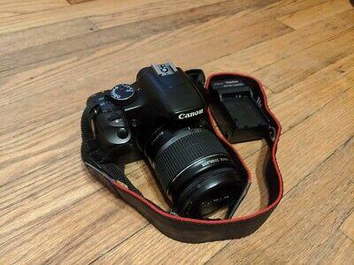 Canon EOS Rebel XSi Black EF-S 18-55mm IS Lens Kit - Black