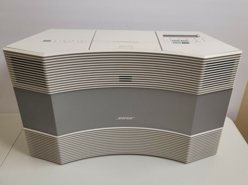 Bose Acoustic Wave Music System CD3000 AM/FM CD Player Platinum Fast Shipping