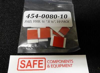 3m 5952 Vhb Double Sided Tape Qty-10 132 Structural Bonding 12 Sqr Black D36