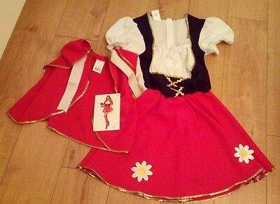 New Halloween Costume Little Red Riding Hood (UK Size 14/16), (Euro size 44)