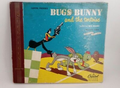 Bugs Bunny and the Tortoise Featuring Mel Blanc Record/Reader Set