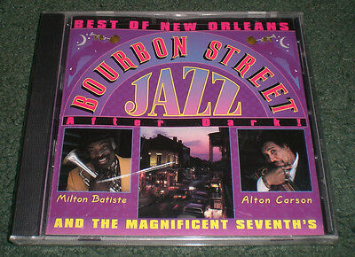 Best Of New Orleans Bourbon Street Jazz After Dark~NEW CD~Milton