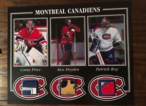 Price, Roy, Dryden game used sticks photo
