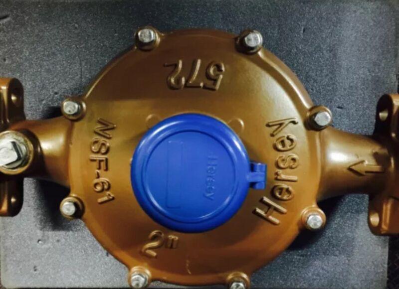 "Hersey 2"" 572 Water Meter Direct Reading NSF61"