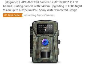 APEMAN Trail Camera 12MP 1080P - brand new