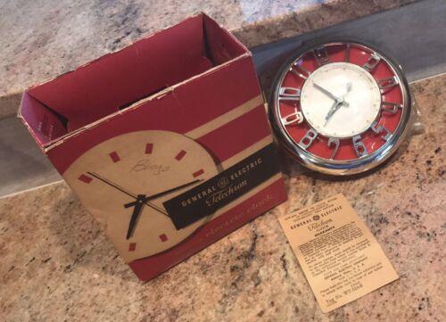 GE Techron Kitchen Clock with original box!