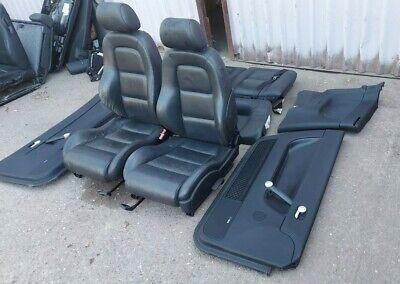 AUDI TT MK1 8N BLACK LEATHER HEATED SEATS