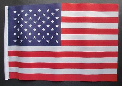 "USA BUDGET FLAG small 9""x6"" UNITED STATES OF AMERICA American U.S.A. flags"