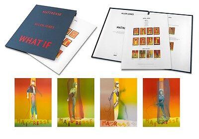 """Allen Jones """"Maitresse Folio 4x Screenprints als Mappenwerk"""" POP ART - Luxus"""