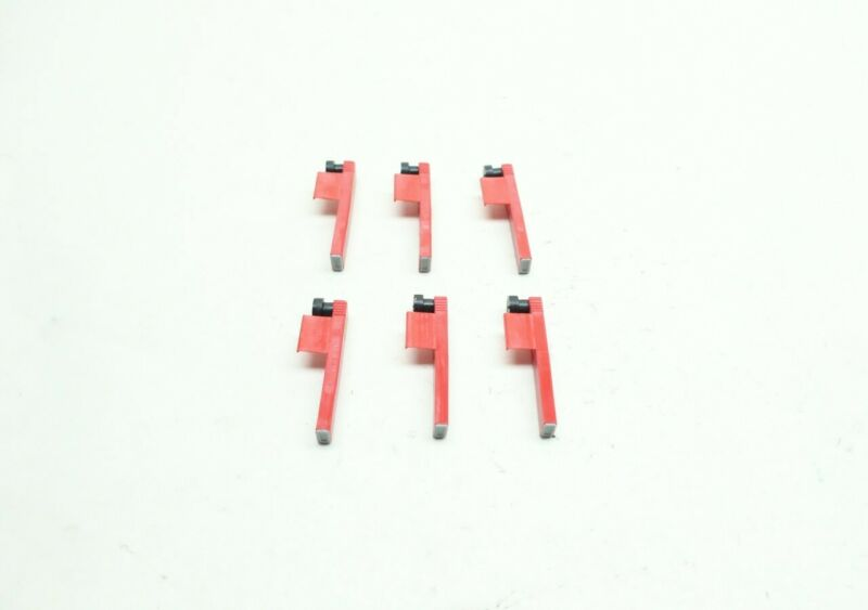 Set Of 6 Graphic Controls 82-39-0102-06 Red Chart Recorder Pen