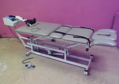 Performa Tm-300 Traction Machine 198 Lb Digital Hilow Table W Cervical Device