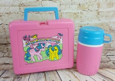 Original Vintage Bluebird My Little Pony Lunch Box 1987